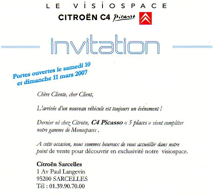 Modele Lettre Invitation Client
